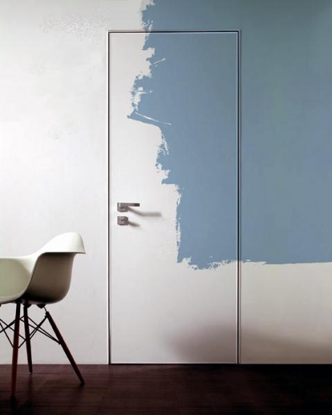 Двери скрытые в грунте под покраску двери скрытого монтажа Secret Doors