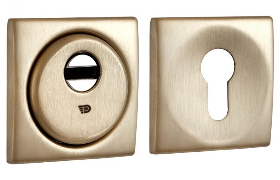 Броненакладка Sferik kubo bd16 square матовое золото