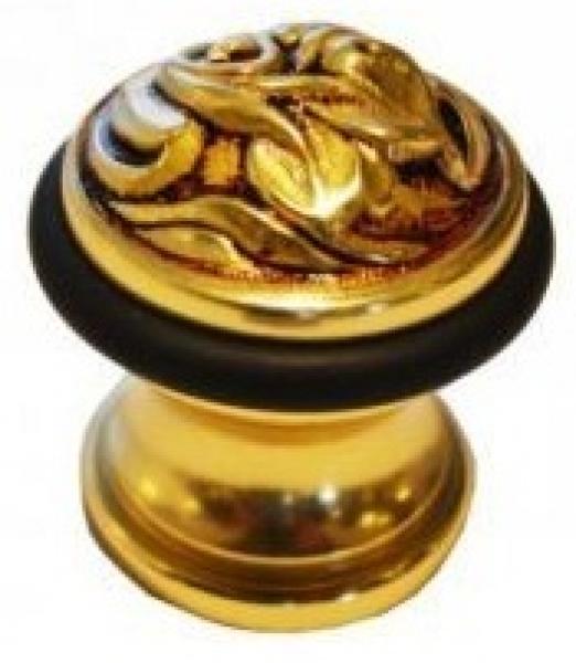 Стопор железный напольный 1272 французское золото