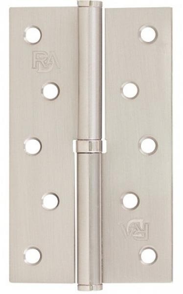 Разъемная петля дверная на межкомнатную дверь 125 матовый никель
