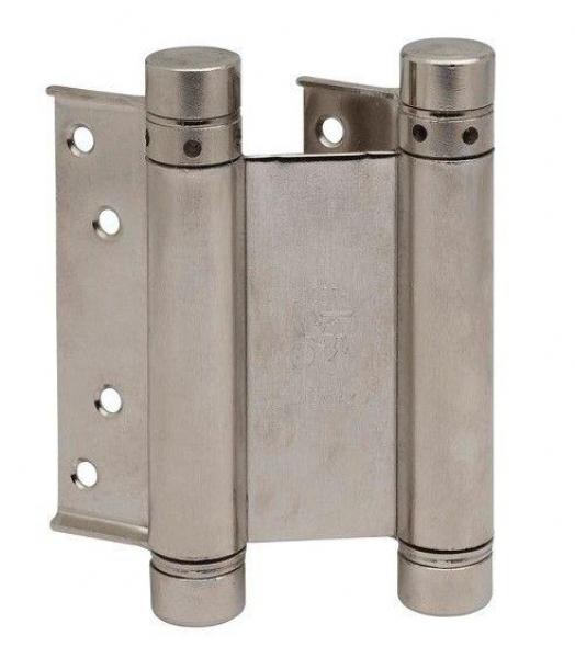 Петля дверная 101B матовый никель