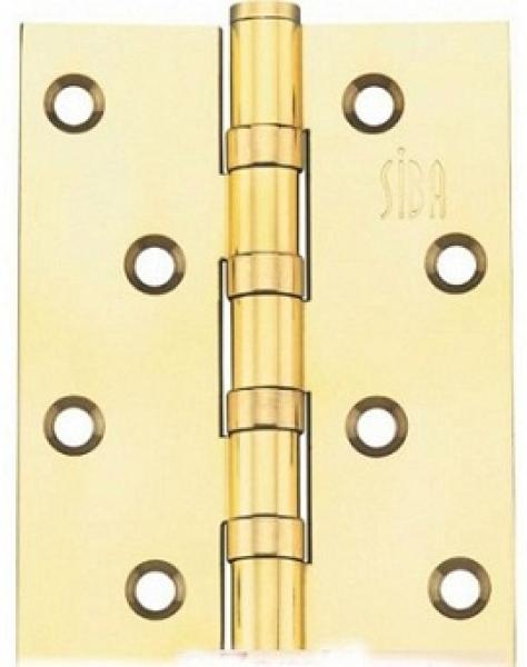 Универсальная петля дверная 100 полированное золото
