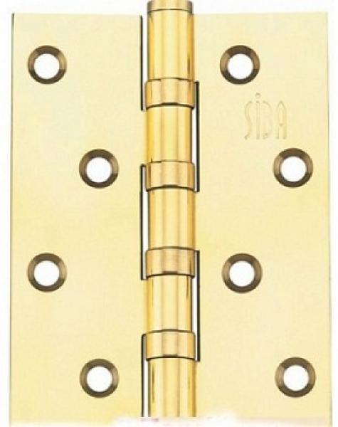 Универсальная петля дверная 100B полированное золото