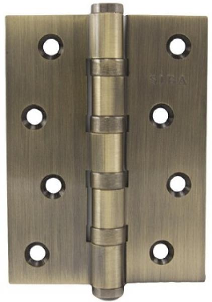Универсальная петля дверная 100B античная бронза