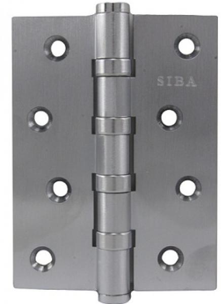 Универсальная петля дверная 100B матовый никель