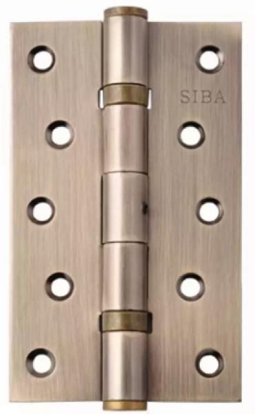 Универсальная петля дверная усиленная 125 античная бронза