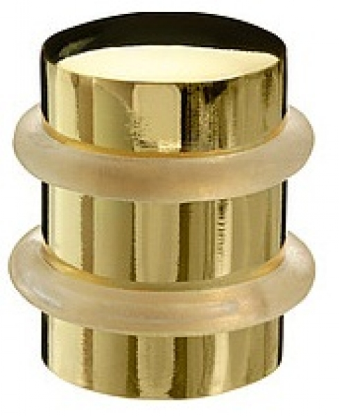 Дверной стопор 1538 полированное золото