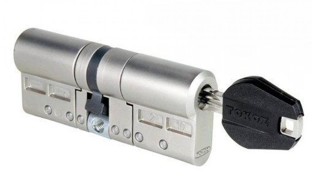 Цилиндр Pro 400 HARD корпус матовый никель 30*33