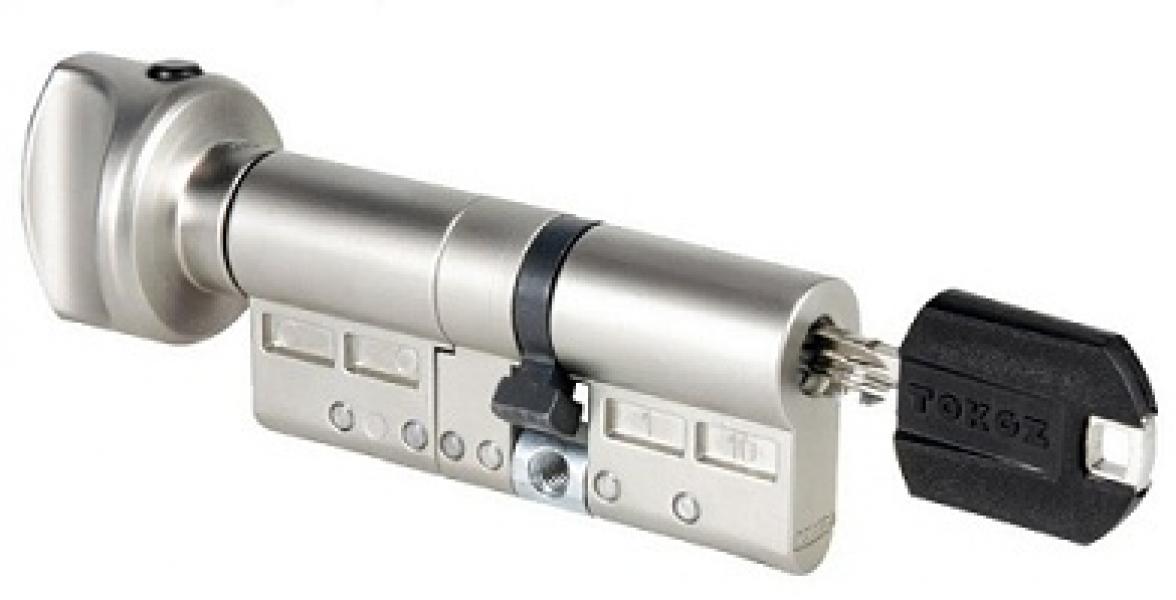 Цилиндр Pro 300 корпус матовый никель 30*30-Т