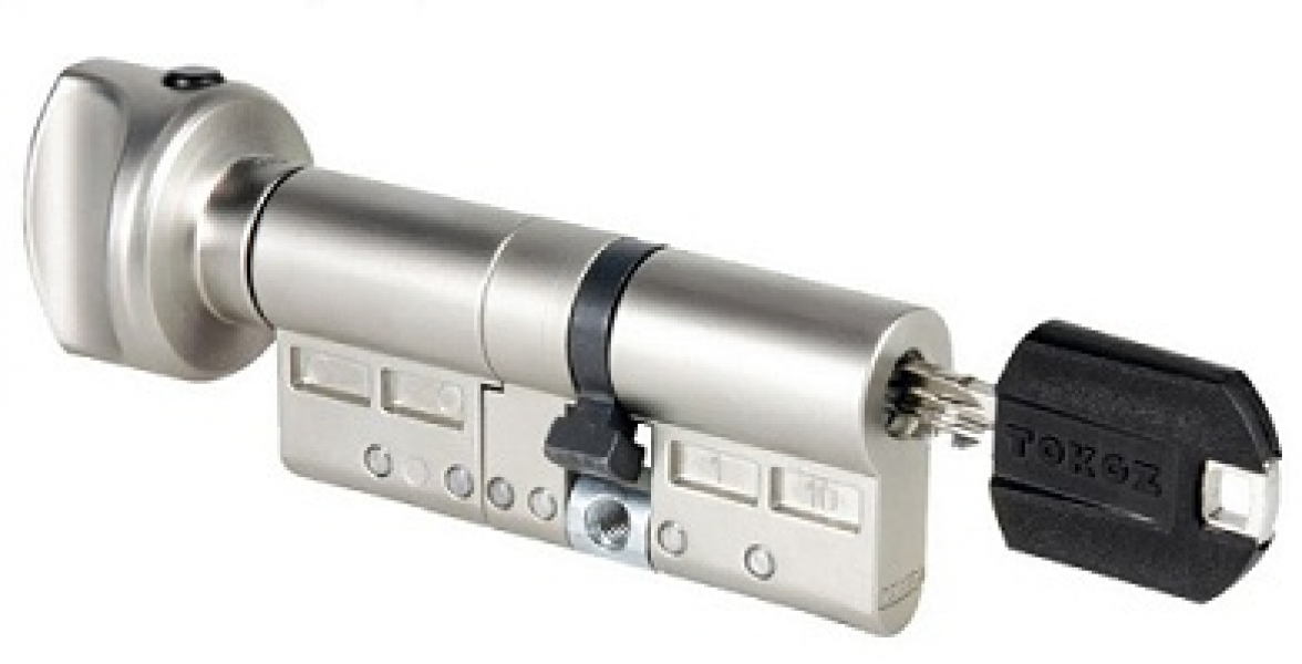 Цилиндр Pro 400 HARD корпус матовый никель 33*30-Т