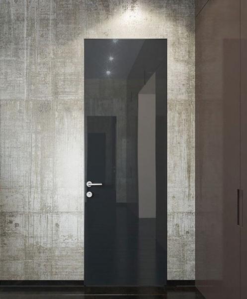 Скрытая дверь WakeWood со стеклом/зеркалом