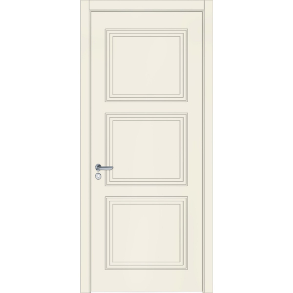Двери межкомнатные Classic Loft 05 RAL 9001