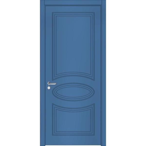 Крашеные межкомнатные двери Classic Loft 07 RAL 5007