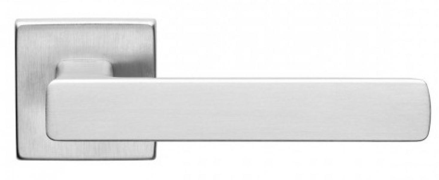 Ручка дверная Fold 02 матовый хром