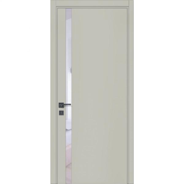 Двери межкомнатные Glass 02 RAL 7044