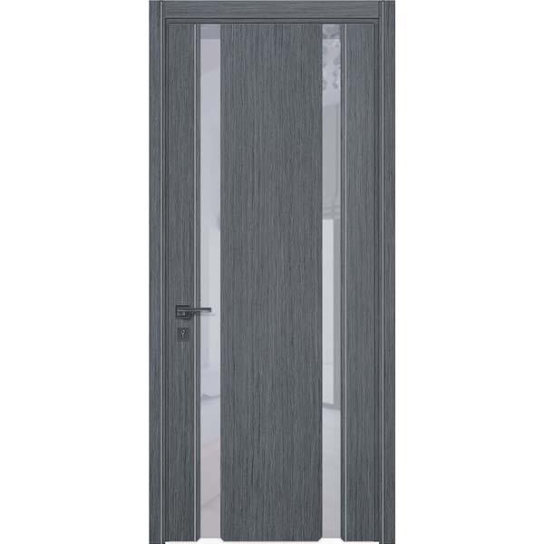 Двери межкомнатные Glass plus 01 дуб серый