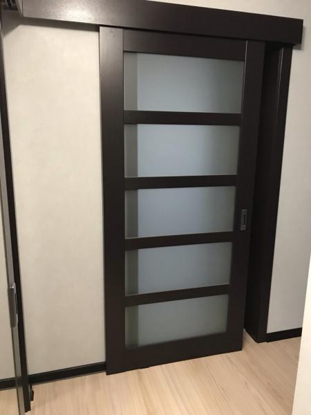 Двери раздвижные Glasswood