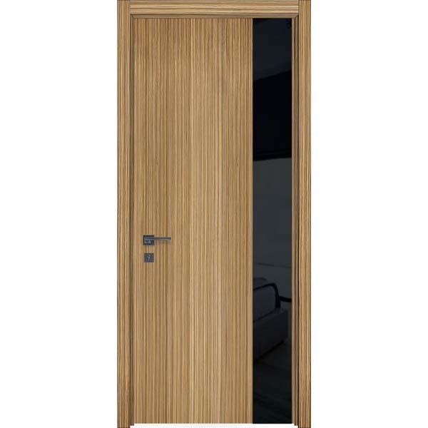 Шпонированные двери Unica 01 зебрано