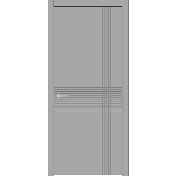 Двери крашеные межкомнатные West 56 RAL 7045