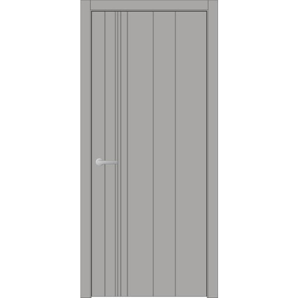 Двери крашеные межкомнатные West 58 RAL 7045