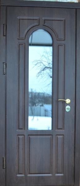 Дверь входная Арт-4 металлические для монтажа на улице
