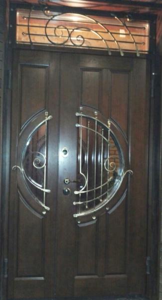 Металлические двери Классика ковка