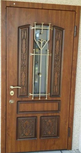 Металлические двери Классика патина