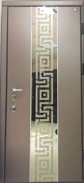 Двери входные Молдинг зеркало