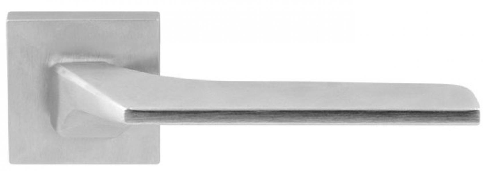 Ручка дверная на розетке Corsa H5  матовый хром