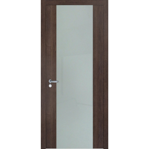 Двери межкомнатные Cleare 12 орех темный