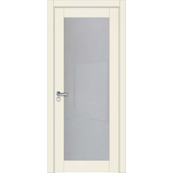 Двери межкомнатные Glass cleare 01 RAL 9001