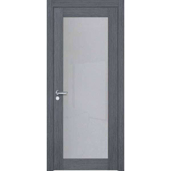 Двери межкомнатные Glass cleare 01 дуб серый
