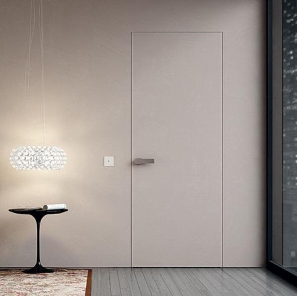 Двери скрытые крашенные в цвета по каталогам RAL/NCS двери скрытого монтажа Secret Doors