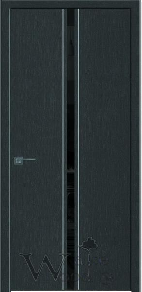 Двери межкомнатные 03 серии цвета венге