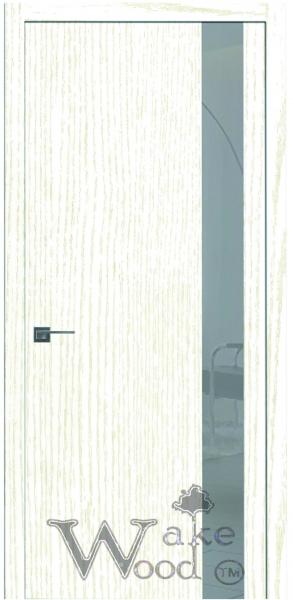 Двери межкомнатные Cleare 05 ясень белый антик