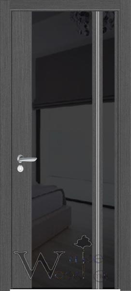 Двери межкомнатные Festa 01 венге серый