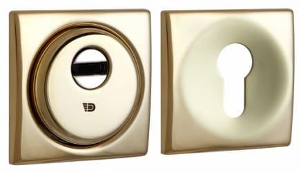 Фото Производитель Disec Броненакладка Sferik kubo bd16 square золото PVD