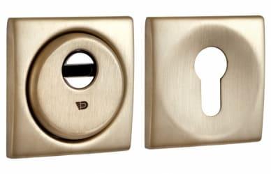 Фото Производитель Disec Броненакладка Sferik kubo bd16 square матовое золото