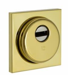 Фото   Броненакладка Monolito sferik bd200 square полированное золото