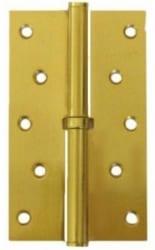 Фото  RDA Разъемная петля дверная на межкомнатную дверь 125 полированное золото