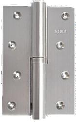 Фото  Siba Разъемная усиленная петля дверная на межкомнатную дверь 120B матовый никель