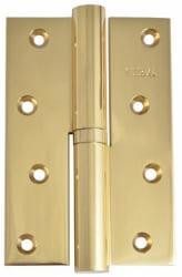 Фото  Siba Разъемная петля дверная усиленная 120B полированное золото