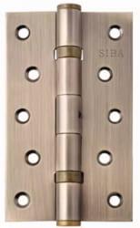 Фото Производитель Петли Siba Универсальная петля дверная усиленная 125 античная бронза