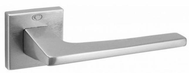 Фото Производитель Ручки CONVEX (Греция) Дверная ручка модели 1495 матовый хром, нажимная