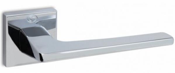 Фото Производитель Ручки CONVEX (Греция) Дверная ручка модели 1495 полированный хром, нажимная