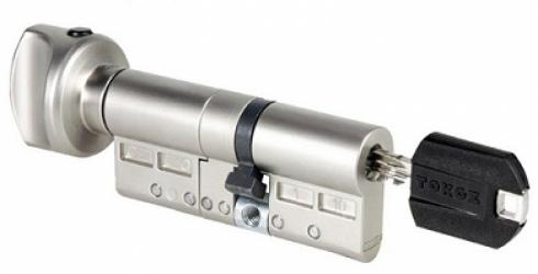 Фото Производитель Tokoz Цилиндр Pro 400 HARD корпус матовый никель 33*30-Т