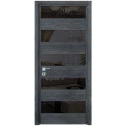 Фото  WakeWood Межкомнатная дверь Bianca 01 дуб серый