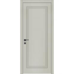 Фото  WakeWood Межкомнатная дверь Classic Loft 01  RAL 7044
