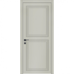 Фото  WakeWood Межкомнатная дверь Classic Loft 04 RAL 7044