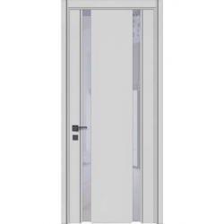 Фото Производитель Двери WakeWood (Вейквуд) Межкомнатная дверь Glass plus 01 RAL 7047